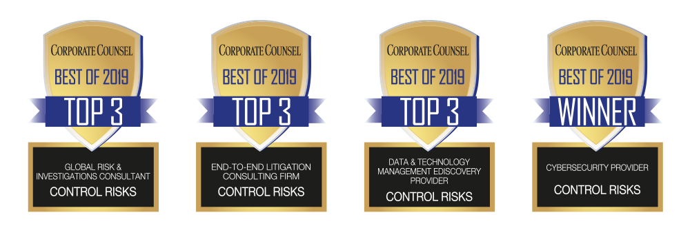 Best of Corporate Counsel 2019