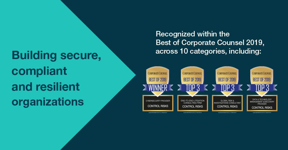 Control Risks awards