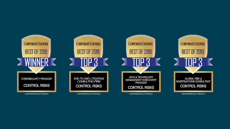 Best of Corporate Counsel awards
