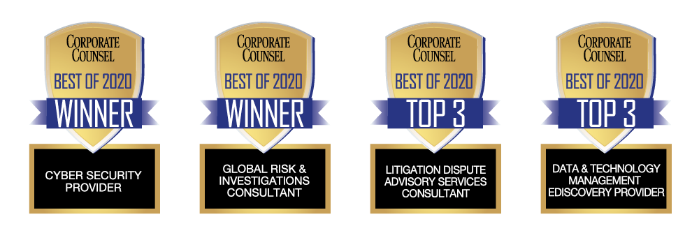 Best of Corporate Counsel Awards 2020