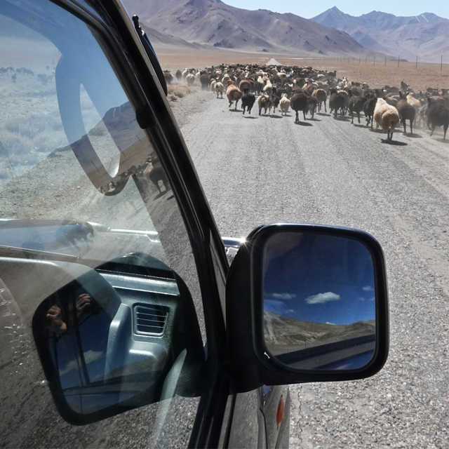 Tajikistan No Roads Only Directions