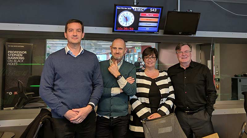 Nick Allan on BBC