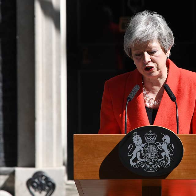 Brexit May resignation
