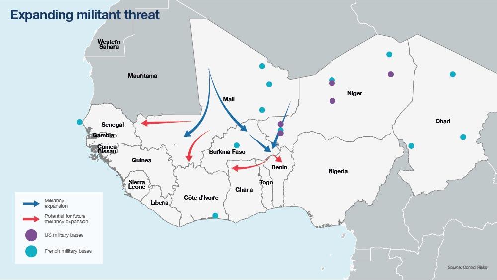 Militant threat