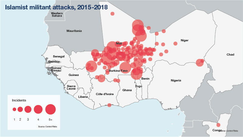 Islamist militant attacks