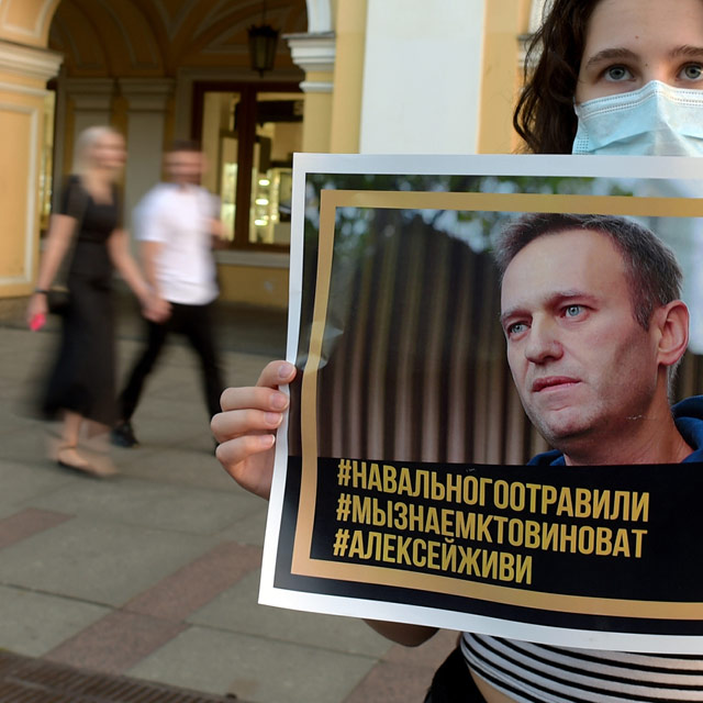 Navalny poisoning raises prospect of new sanctions on Russia