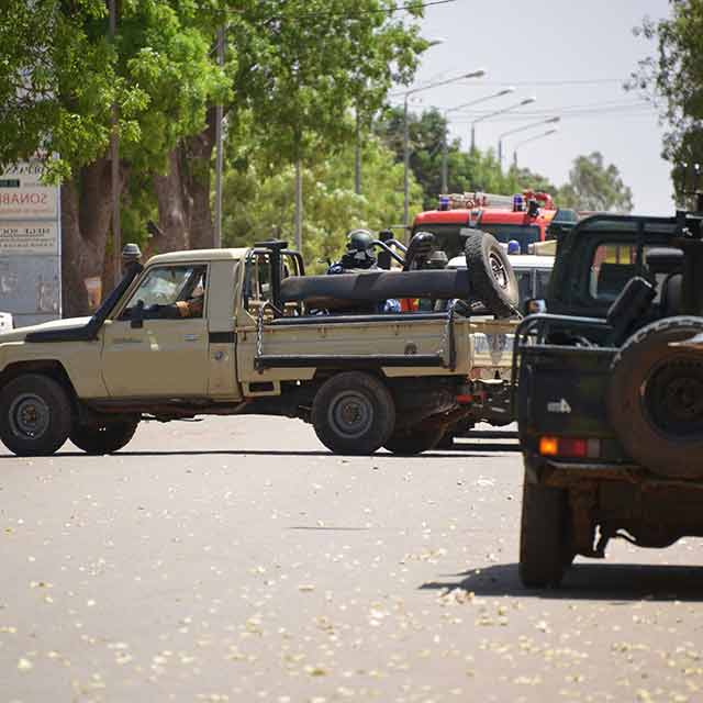 The four furies of geopolitics: asymmetric threats