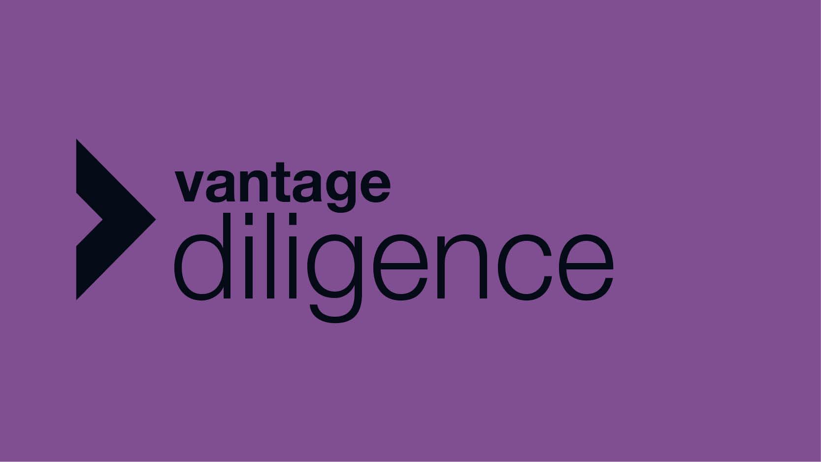VANTAGE Diligence